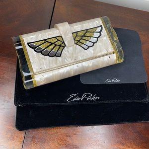 Edie Parker Lara Wings Clutch